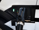 Audi e-tron prototype charging at 150 kW High-Power-Charging-Sta