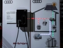 Audi e-tron prototype at the high-voltage test bay in Berlin