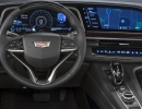"""The 2021 Cadillac Escalade showcases the first curved OLED in the industry with 38"""" of total diagonal display. It consists of a 7.2-in. driver information display, a 14.2-in unit behind the steering wheel, and a 16.9 –in center display."""