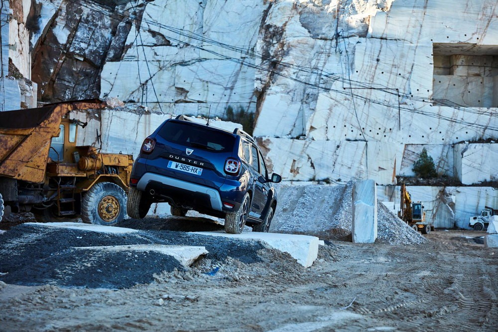 2017 - New Dacia DUSTER tests drive in Greece