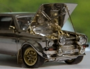 Tiny Classic Ford Escort Made of Gold, Diamonds and Silver Expected to Fetch a Fortune at Auction