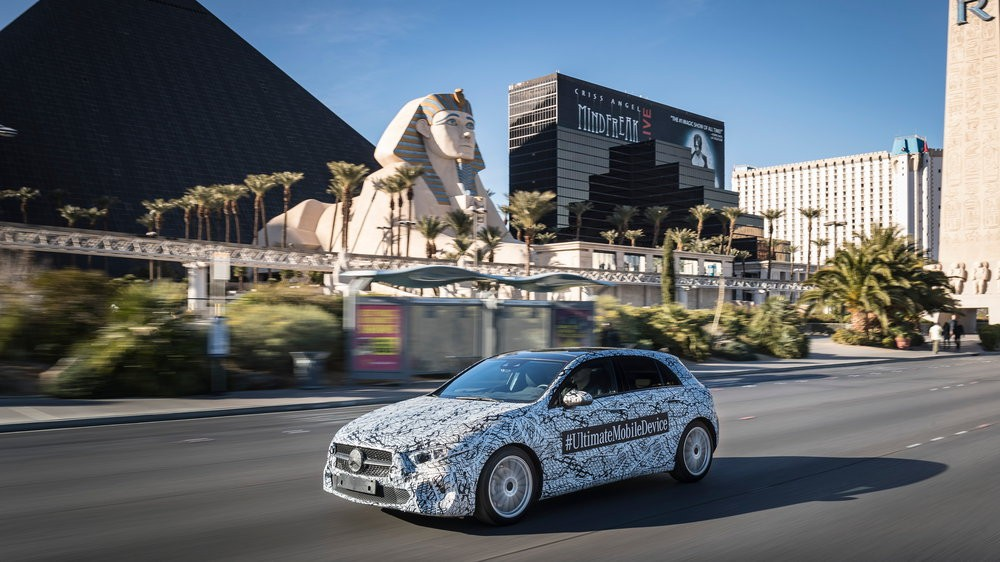Mercedes-Benz auf der Consumer Electronics Show (CES, 2018) in Las Vegas//Mercedes-Benz at the Consumer Electronics Show (CES, 2018) in Las Vegas