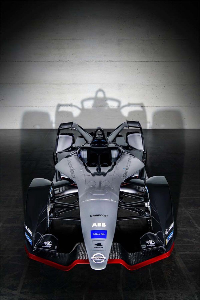 Nissan reveals concept livery for its Formula E debut season