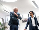 Matthew Weaver, Vice President of Nissan Design Europe, and Chetan Chohan, Design Manager at Nissan Design Europe