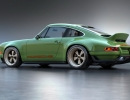 1990 Porsche 911 restored and modified by Singer Vehicle Design using results of Dynamics and Lightweighting Study [DLS] undertaken with Williams Advanced Engineering and other technical partners.