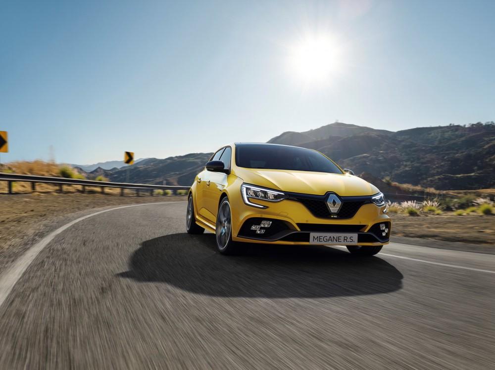 2020 - Nouvelle Renault MEGANE R.S. Trophy