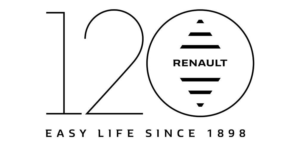 Logo 120 ans Renault