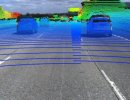 LiDAR Point Cloud Projected on Image