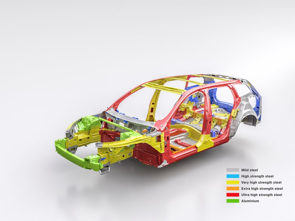 New Volvo V60 safety cage
