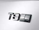 Emblem Twin Engine T8 Volvo S90/V90 Inscription White
