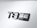 Emblem Twin Engine T8 Volvo S90/V90 Inscription White