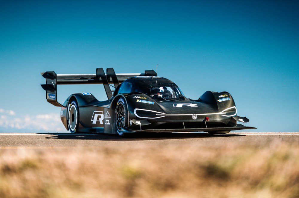 Volkswagen I.D. R Pikes Peak in Colorado