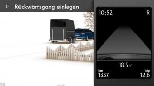 Trailer Assist - Automatisches Einparken mit Anhaenger