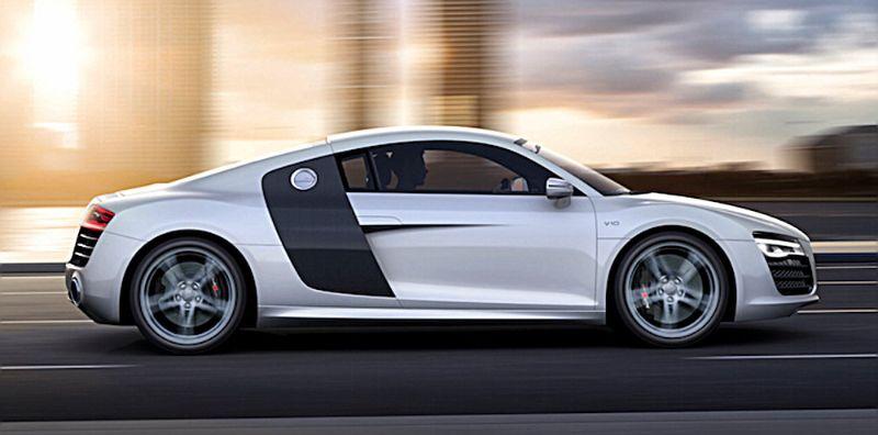 Audi R8 V10/Fahraufnahme