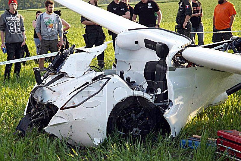 AeroMobil crashes in Slovakia
