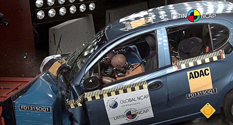 Chery iQ Latin NCAP-1