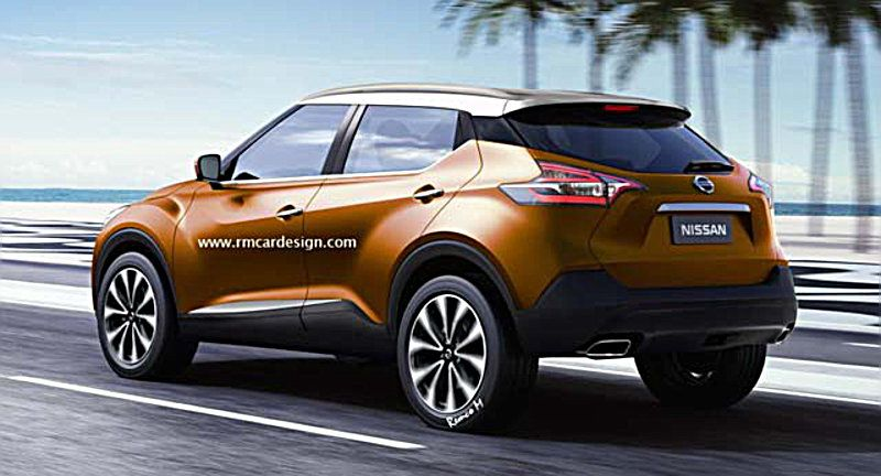 Nissan Juke rendering 2