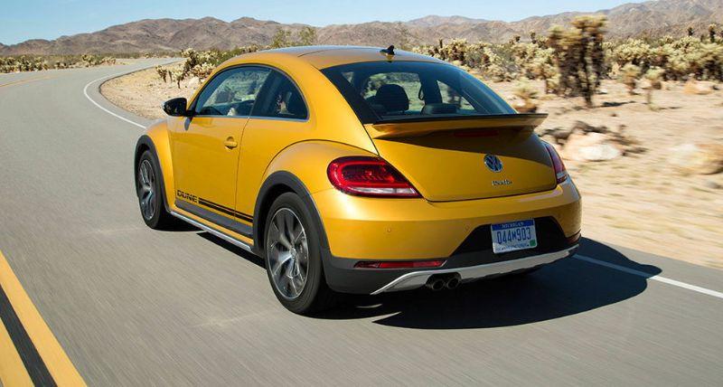 Der neue Volkswagen Beetle Dune