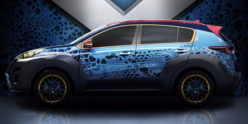 X-Men Apocalypse themed Kia Sportage 1200