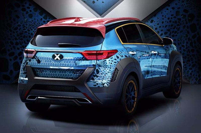 X-Men Apocalypse themed Kia Sportage (2)