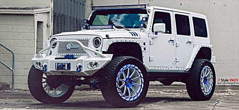 JEEP WRANGLER MC CUSTOM