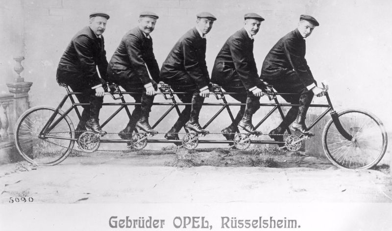 130 years of bicycle tradition at Opel