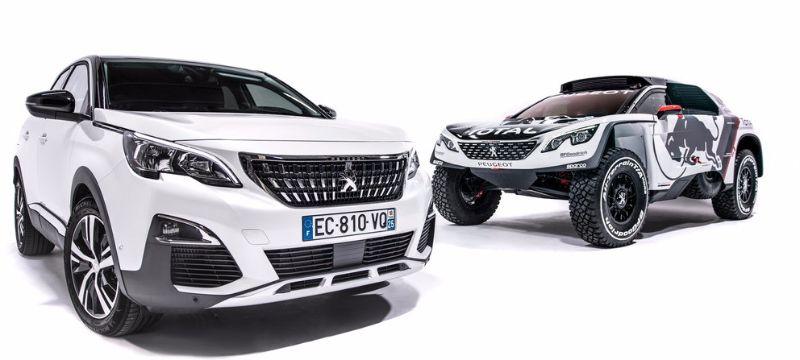 Team Peugeot-Total new Peugeot 3008 DKR reveal