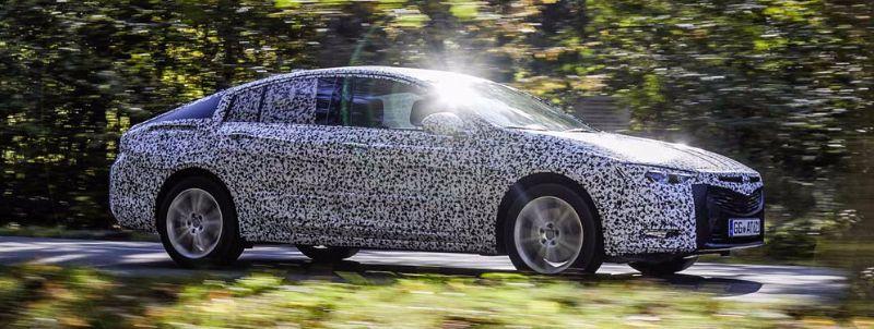 The new Opel Insignia Grand Sport