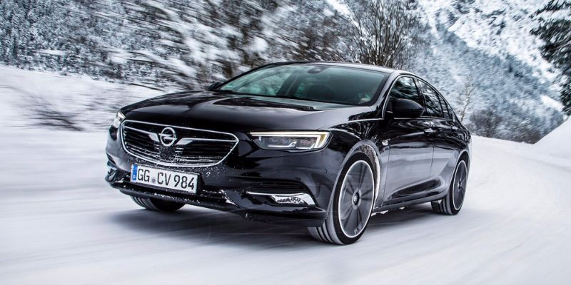Opel Insignia Grand Sport heating systems
