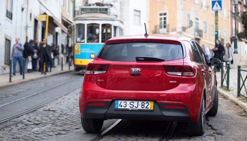Kia Rio Lisbon test Drive 2017 (3)