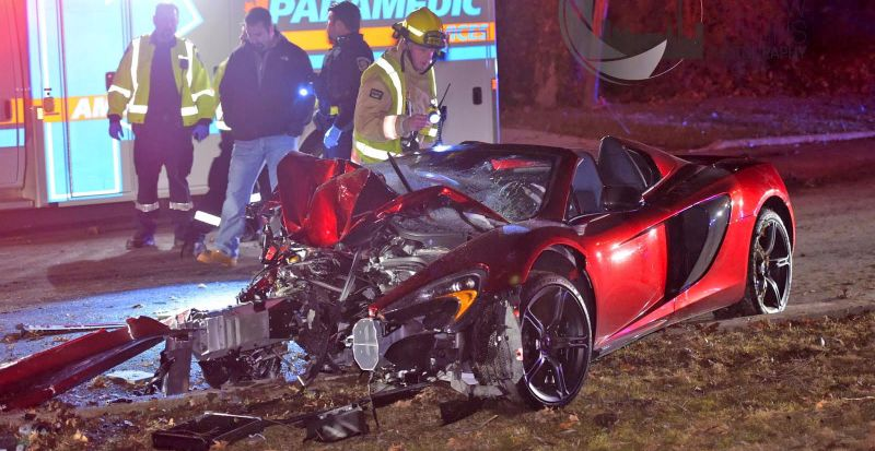 McLaren 650S Spider crash -2