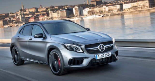 PTD_Mercedes_Benz_Compact_Cars_Hungary_2017, Mercedes-AMG GLA45 4MATIC