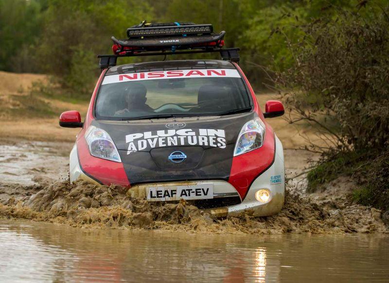Nissan Leaf All-Terrain EV Mongol Rally (1)