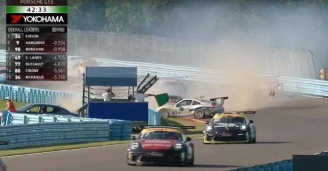 Porsche GT3 Cup Challenge Canada Race 1 Watkins Glen International