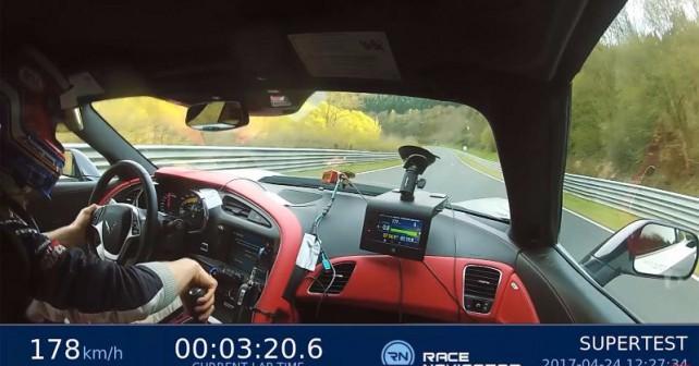 Sport Auto Nurburgring Run With Corvette Z06
