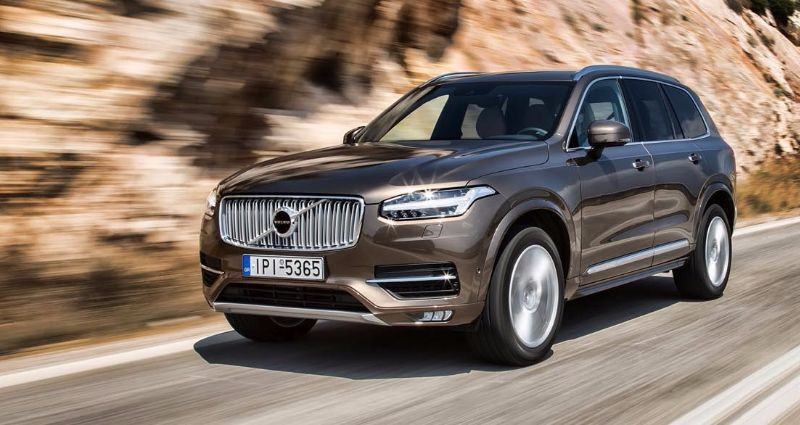 VOLVO XC90 - best-seller in Greece 2