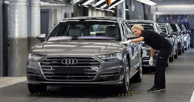 Audi A8: Production at Audi Neckarsulm