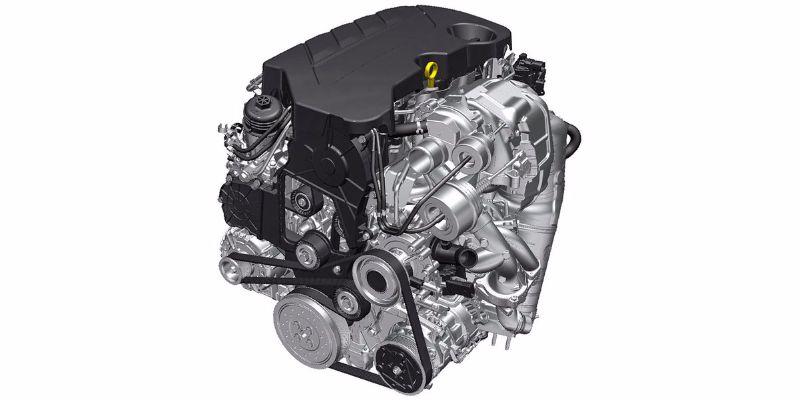 Zweiliter-Biturbo-Dieselmotor mit 210 PS fΓΌr Insignia (Typ LDE LFO 1)