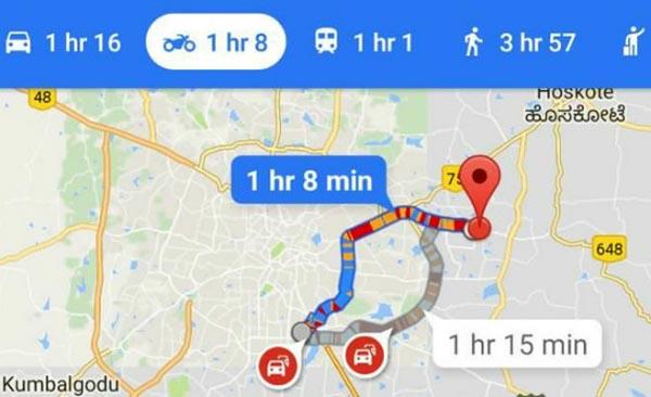To Google Maps Apokta Kai Eidikh Plohghsh Gia Motosikletes